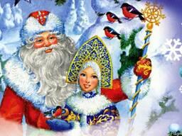Дед Мороз заказать детям на дом Алматы от 8000 тг.