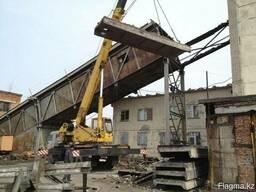 Демонтаж и монтаж металлоконструкций крыши навесы и т. д - фото 3