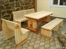 Деревянная мебель для бань, саун, беседок , кафе , рестора