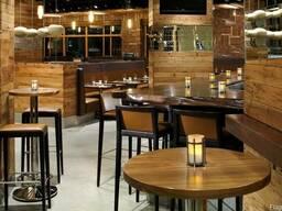 Деревянная мебель для ресторанов и баров