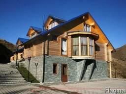 Деревянные дома из клееного бруса, финские дома - фото 5