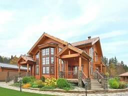 Деревянные дома,здания и сооружения 160 $/ кв.м.