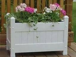 Деревянные клумбы для цветов