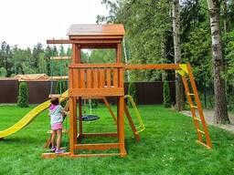Детские игровые комплексы из Европы - фото 1