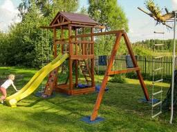 Детские игровые комплексы из Европы - фото 4