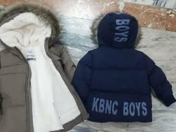 Детские тёплые куртки