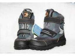 Детские зимние ботинки котофей