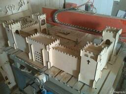 Детский деревянный замок