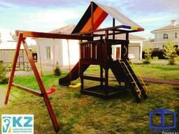 Детский игровой комплекс (площадка) в Астане. 13-02