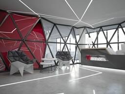 Дизайн для офиса, банка, ресторана, бара, салона красоты
