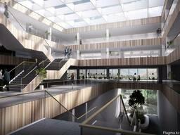 Дизайн интерьера бизнес-центра