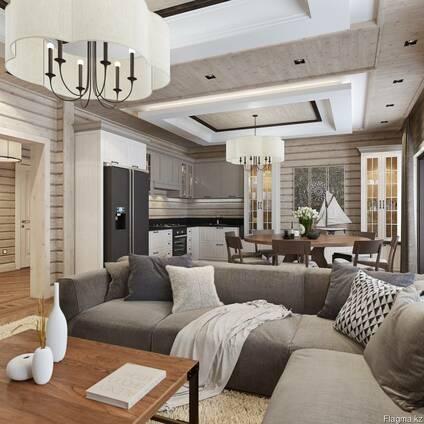 Дизайн интерьера домов, коттеджей