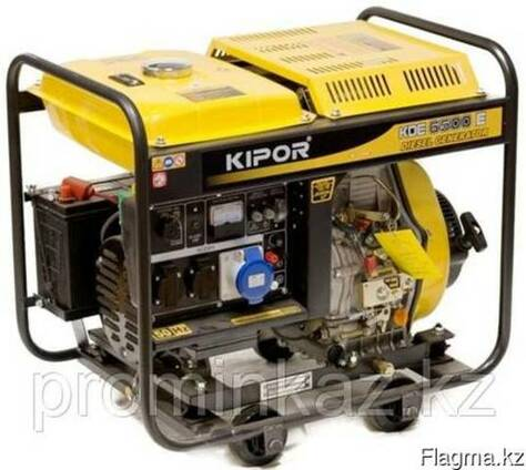 Дизельный генератор 5кВт KIPOR KDE6500X, открытый