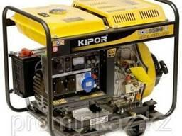 Дизельный генератор 5кВт KIPOR KDE6500X, открытый - фото 1