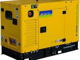 Дизельный генератор aksa apd 12 a