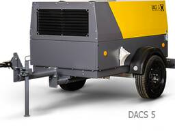 Дизельный передвижной компрессор 5 м3/мин Comprag Dacs5