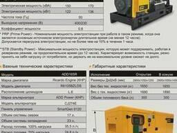 Дизельные электростанции по доступным ценам 120 квт