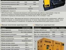 Дизельные электростанции по доступным ценам 800 квт