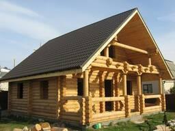 Дома, бани, беседки и другие строения из бревна.