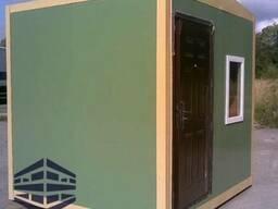 Домик охраника размером 2м х 2м