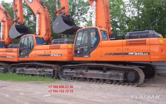 Doosan DX340LC Гусеничные экскаваторы
