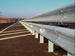 Дорожные металлические барьерные ограждения - фото 4