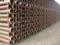 Дренажные керамические трубы с цилиндрической наружной пов