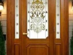 Двери входные и межкомнатные из дерева на заказ в Алматы