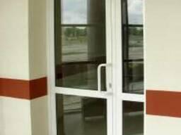 Двери светопрозрачные противопожарные EIW