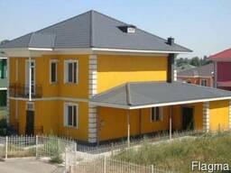 """Двухэтажные дома в коттеджном городке """"Достык"""""""