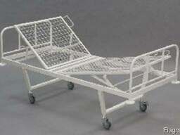 Двухсекционная медицинская кровать МСК-102