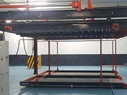 Двухстоечная гидравлическая система для парковки автомобилей