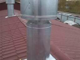 Дымоходы, Воздушное отопление, Вентиляция. Изготовление, Мон - фото 5