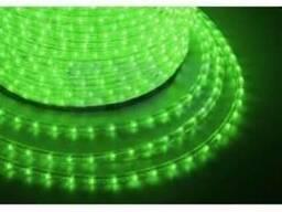 Дюралайт Led, постоянное свечение (2W) - зеленый, бухта 10м
