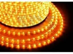 Дюралайт Led, постоянное свечение (2W) - желтый, бухта 100м,