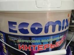 Ecomix акриловая водоэмульсия интерьер