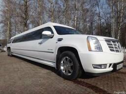 Единственный в Караганде лимузин Cadillac на 25 персон.
