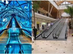 Эскалатор и траволатор для бизнес- центр торговый дом