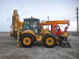 Экскаватор /Погрузчик Excavator New Holland B115