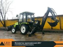 Экскаваторная установка для трактора