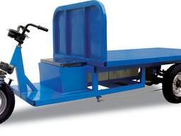 Электрический грузовой трицикл для кирпичный завод. гоффман