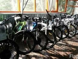 Электровелосипеды, мотор-колеса (электронаборы) для велосипе