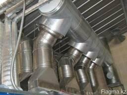 Элементы дымовых труб с патрубками и переходами - фото 2