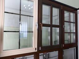 Элитные окна из дерева, деревянные окна и двери