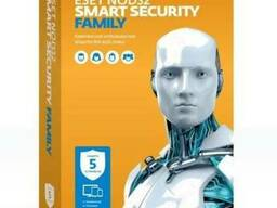 ESET NOD32 Smart Security Family на 5ПК/12мес.