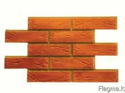 Фасадная панель шамотный кирпич