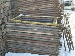 Фасадные леса для внутренних и наружных работ