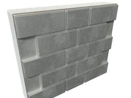 Фасадные панели для коттеджей с утеплителем 30-50 мм с 2 вид