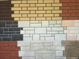 Фасадные панели Fine Ber: кирпич, сланец, камень.
