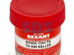 Флюс для пайки Rexant, паста TR-RM Keller, 20 мл, банка